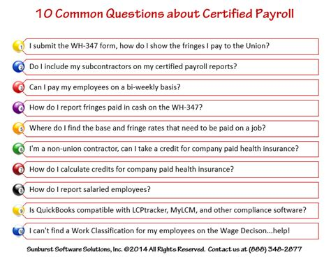 the employer s payroll question and answer book 2018 books ask me anything 10 common questions about certified