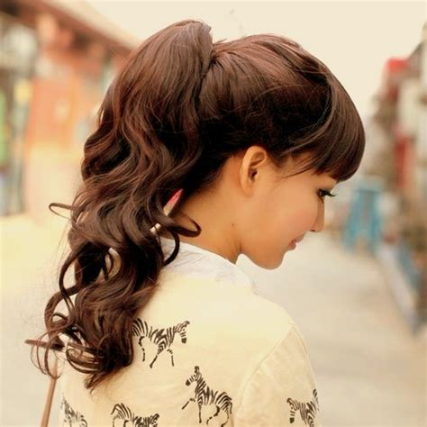 ponytail hairstyles for hottest high ponytails for 2017 haircuts and hairstyles for 2017 hair colors trends for long