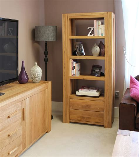 chunky living room furniture palma solid chunky oak furniture living room office furniture large bookcase