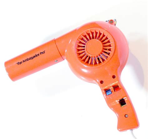 Conair Jade Hair Dryer vintage orange dryer hair dryer 1970s
