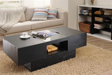 living room table with storage unique coffee tables with hidden compartments