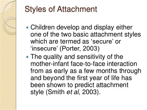 attachment theory in building connections between children and parents books attachment theory