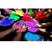 Picture Of Organic Holi Colors  Day In India 2016 HD