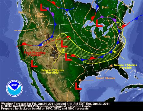 us weather map june june 2011