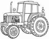 remorque de tracteur Coloriage