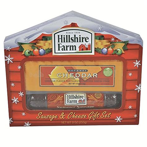 hillshire farm christmas gift set hillshire farm summer sausage cheddar cheese gift set gifts sets