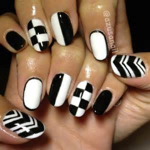 Black and white nail art designs 2015 black and white nail art designs