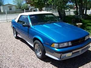 1989 Chevrolet Cavalier Z24 Find Used 1989 Chevrolet Cavalier Z24 Convertible 2 Door 2