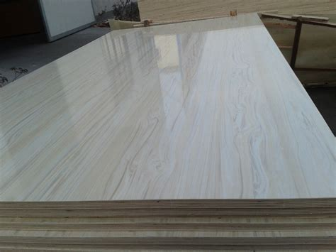 Full Hardwood Core Top Quality Melamine Laminated Plywood