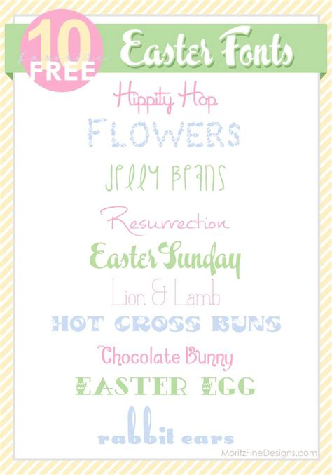printable easter fonts easter fonts