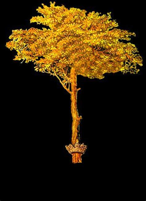 Gold Tree - roq artist s fellowship site wide artist simon periton