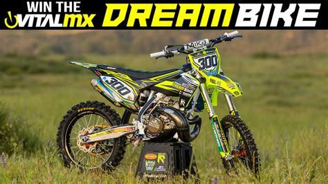 win a motocross bike win vital mx s 2017 husqvarna tc 300 bike