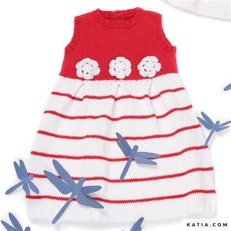baby jurk breien patroon jurk baby lente zomer modellen patronen katia