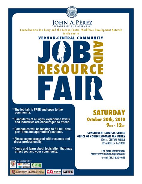 Resume Format In Teacher Jobs by Vernon Central Community Job And Resource Fair Saturday