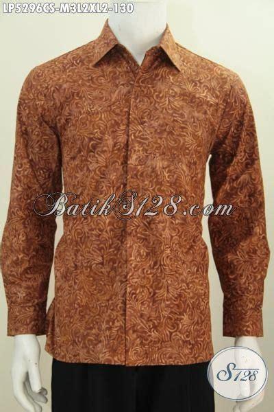 Batik Cap Laki Laki Lengan Panjang jual baju batik lengan panjang motif terbaru proses cap