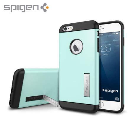 Spigen Iphone 6 Tough Armor S Mint Original 1 spigen slim armor iphone 6 plus tough mint