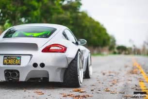 Porsche Cayman Custom Custom Porsche Cayman Stuns With Its Ott Widebody Kit