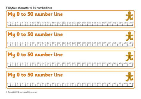 printable number line to 50 fairytale character 0 50 number lines sb8428 sparklebox