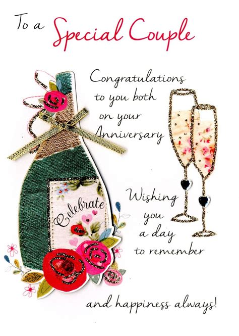 Wedding Anniversary Greetings For And In by Special Anniversary Greeting Card Cards Kates