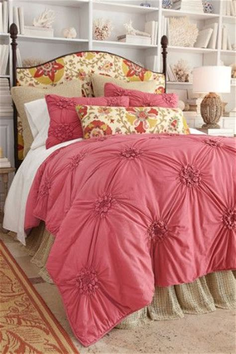 smocked comforter soft surroundings coverlet bedding and comforter on pinterest