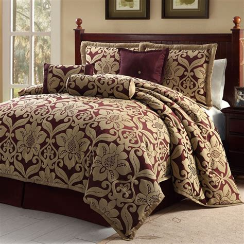 Red Brown And Gold Comforter Sets 26 Best Comforters