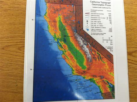 california map regions 4th grade california regions mrs guzm 225 n 4th grade dual language class