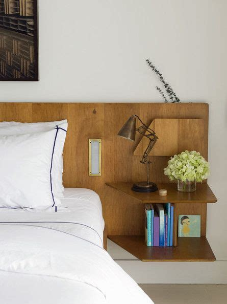 headboard with built in bedside tables best 25 headboard shelves ideas on headboard