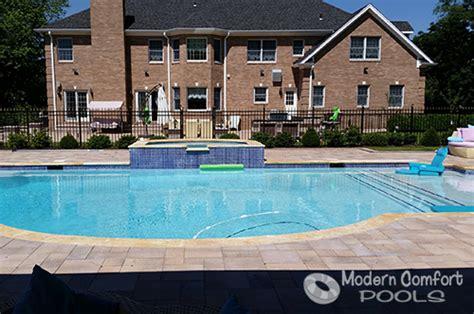 comfort pools modern comfort pools project gallery of gunite swimming