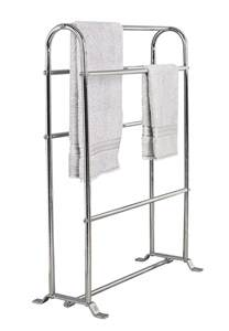 freestanding towel holder