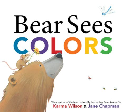 seeing books sees colors book by karma wilson chapman