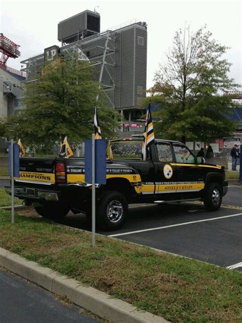 truck pittsburgh steelers truck pittsburgh steelers