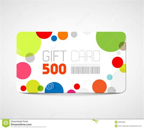 Modern Gift Cards - modern gift card template royalty free stock image image 38059526