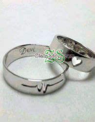 Cincin Kawin Nikah Tunangan Pasangan Perak Lapis Rosegold pusat cincin kawin perak palladium emas zlata silver