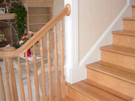 Landing Handrail Height Stair Trim Ideas John Robinson House Decor How To