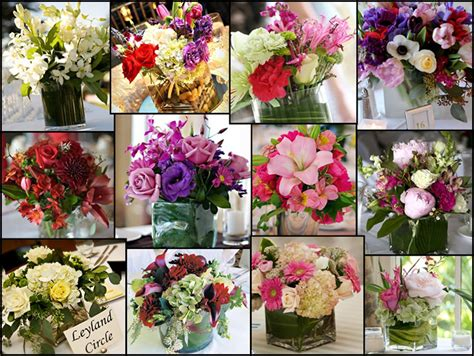 Wedding Flower Decorating by Wedding Flowers Table Decorations Zee Post