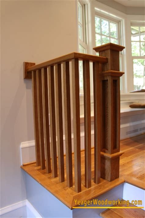 Red Oak Handrail Yeager Woodworking Staircase And Railings