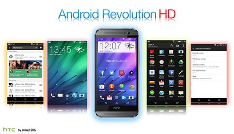 android revolution hd 10 best custom roms for htc one m8 to unlock features