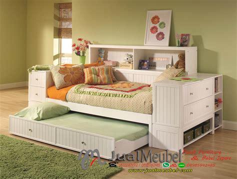 Ranjang Tidur Hello set kamar tidur anak minimalis modern multifungsi