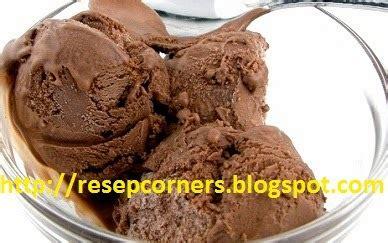 membuat es krim pisang coklat resep cara membuat es krim rasa coklat lembut