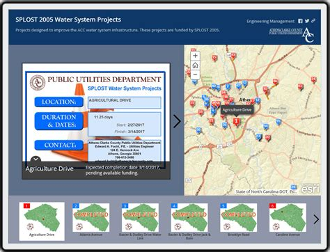 Athens Clarke County Water Business Office water maps gis athens clarke county ga official website