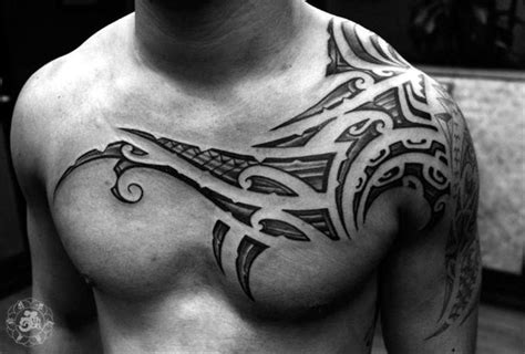 motivational tattoos for men 37 inspirational chest tattoos for tattoos beautiful