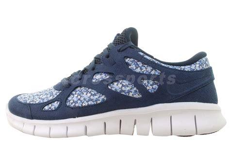 womens navy blue nike shoes nike wmns free run 2 lib ext liberty navy blue