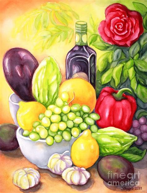 vegetables painting time for fruits and vegetables painting by inese poga