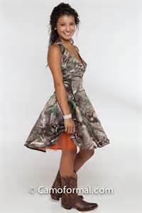 3656 short camo prom dress camouflage prom wedding homecoming formals
