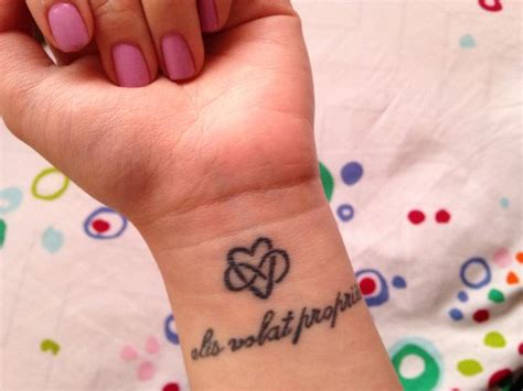 tattoo signifying family 50 best tattoos images on pinterest alis volat propriis