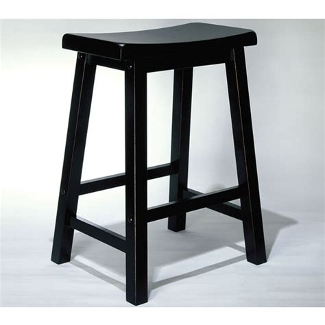 Black Backless Bar Stools by Bar Stools Antique Black Backless Stools By Powell Kitchensource