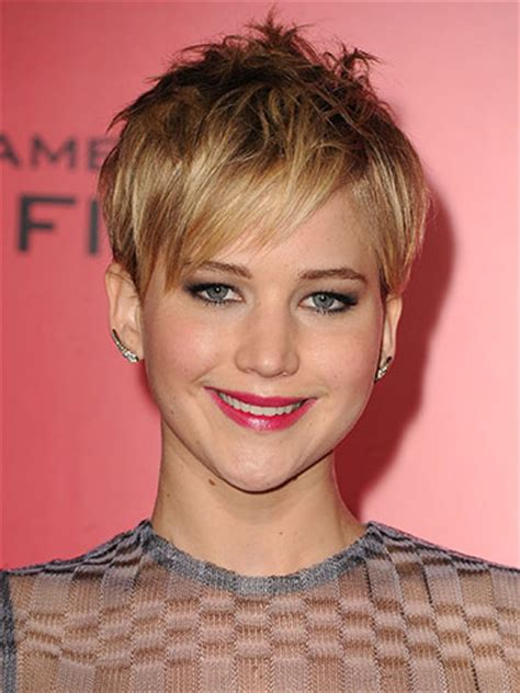 pin jennifer lawrence haircut 2014 short on pinterest the best celebrity hairstyles to rock in 2014 pixie hair