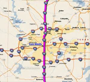 i 35 fort worth traffic maps and road conditions