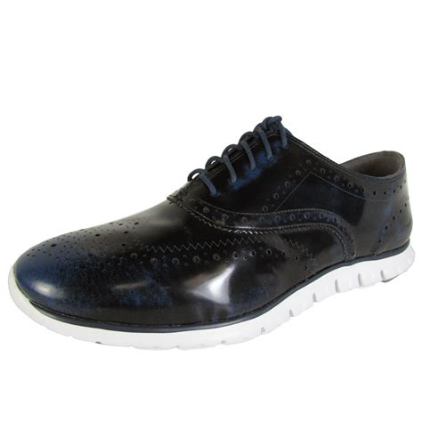 cole haan wingtip oxford shoes cole haan zerogrand wingtip oxford casual shoe ebay