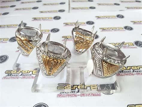 Emban Cincin Monel 2 Warna Jumbo titanium jumbo sedang casare monel jepara 085225716666